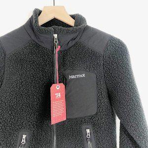Marmot Wiley Fleece Black Polartec Jacket XS
